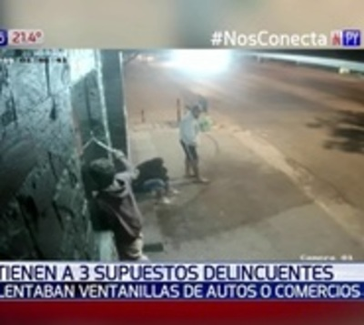 Desbaratan pandilla de delincuentes en Asunción
