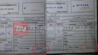 CNEL. BOGADO: SUPUESTAS IRREGULARIDADES EN MANEJO DE JUNTA DE SANEAMIENTO.
