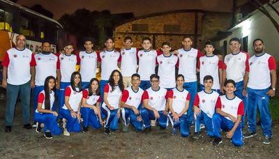 Paraguayos rumbo al Sudamericano de Karate