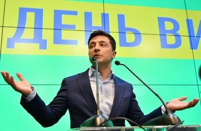 Ucrania escoge a un comediante como nuevo presidente