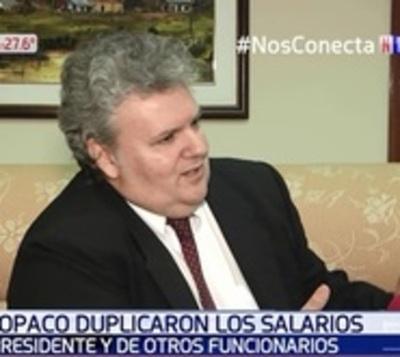 Funcionarios de Copaco cobran el doble por 'equiparación' de salarios