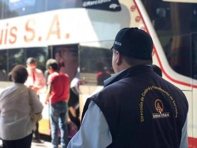Sancionan a 27 buses por cobro excesivo de pasaje