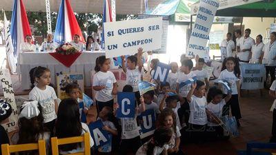 Inician campaña de inmunización en San Pedro