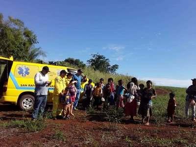 SAN RAFAEL DEL PNÁ: BOMBEROS OBSEQUIARON 1.000 CHIPAS EN MAKUTINGA