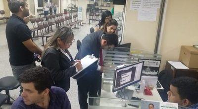 Dos funcionarios de la Municipalidad de Asunción caen por pedir coima