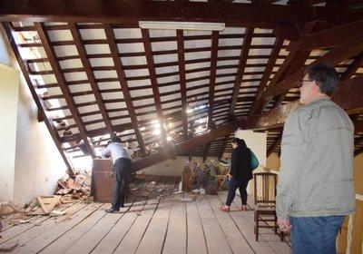 La iglesia de Paraguarí, en emergencia