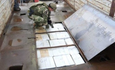 Desbaratan banda de narcotráfico que operaba desde un taller