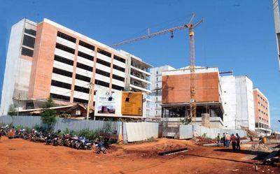 Avanzan obras de la futura sede del Palacio de Justicia
