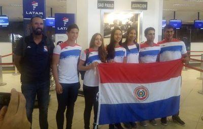 Remeros paraguayos competirán en Brasil