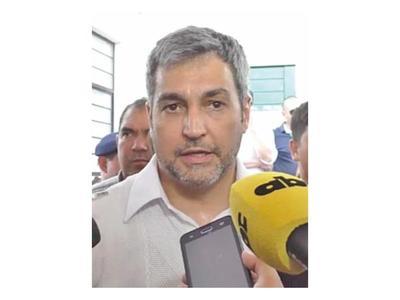 Abdo Benítez reitera   que respetará el proceso