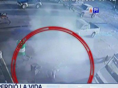 Gomero fallece tras explotar la cámara de una rueda que soldaba
