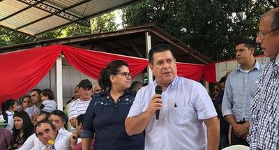 Horacio Cartes reafirmó apoyo al desbloqueo de listas sábanas