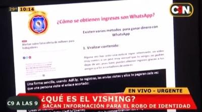 Alertan sobre nueva modalidad de estafa a través de WhatsApp