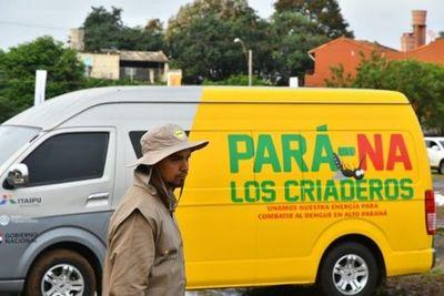 Cronograma de rastrillajes contra el Dengue en Alto Paraná