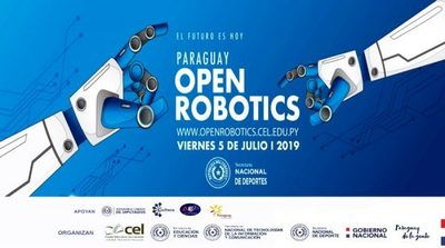 """Ya está habilitada la inscripción para """"Paraguay Open Robotics"""""""