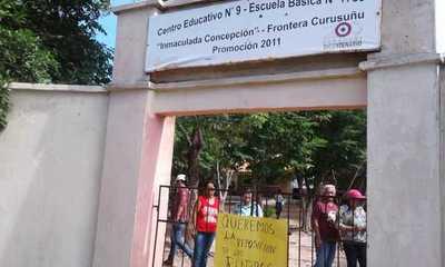 Son varias las escuelas bajo medidas de fuerza en Concepción