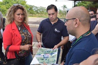 Se inician trabajos para habilitar paso fronterizo en Ayolas