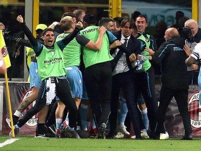 Lazio elimina al Milan y avanza a la final de la Copa Italia