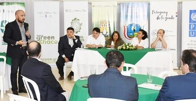 Ministerio del Ambiente presenta proyectos de desarrollo sostenible para el Chaco