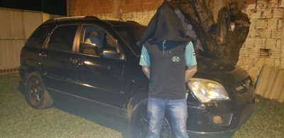 Detienen a un hombre con vehículo robado en Brasil