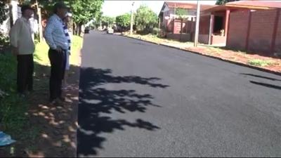 Habilitan tramo de asfalto entre Pdte. Franco y Ciudad del Este