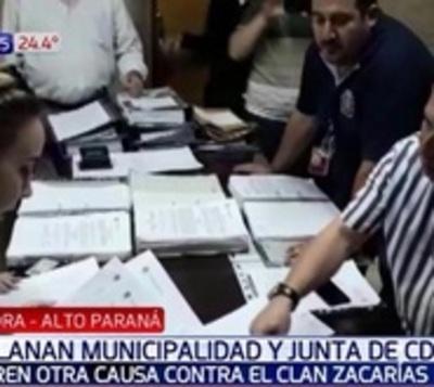 Allanan Municipalidad de CDE en nueva causa contra los Zacarías