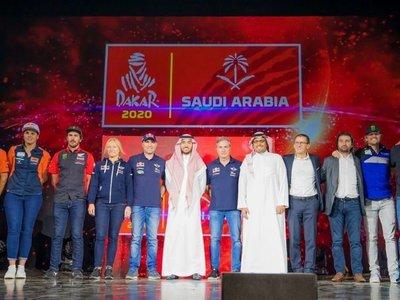 El Dakar se presenta en Arabia Saudita