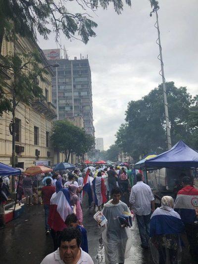 Manifestación ciudadana se desarrolló con incidentes
