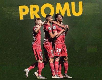 El Metz asciende a la Ligue 1