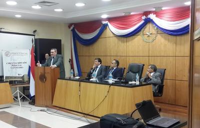Realizaron taller sobre Derecho Penal Juvenil y Justicia Restaurativa