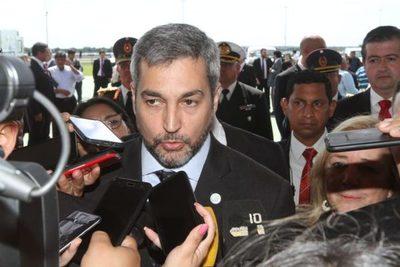 Mandatario reafirmó lucha contra la corrupción