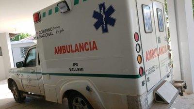 Pobladores de Vallemí frustran el despojo de una ambulancia
