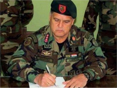 General Benítez, director del Detave cae por protección de contrabando