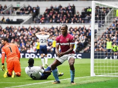El West Ham de Fabián Balbuena sorprende al Tottenham