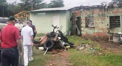 Hospital Distrital de Limpio fue intervenido