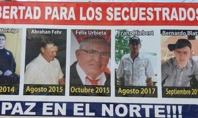 Liberados tendrían información sobre otros secuestrados, segíºn Fiscal