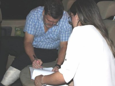 Abogado recomienda no declarar al convaleciente Ramón Benítez