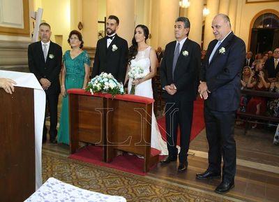 Tamara y Emilio se casaron