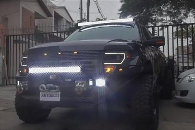 Caminera anuncia controles de buscahuellas y luces led en rutas