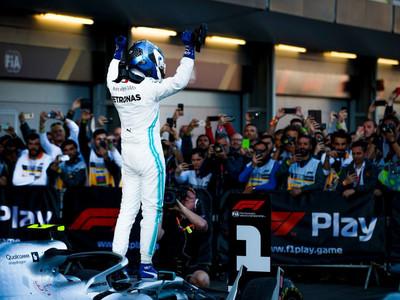 Valtteri Bottas gana el Gran Premio de Azerbaiyán