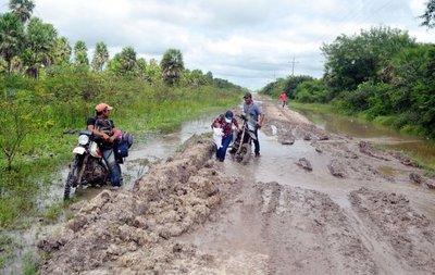 En el Alto Paraguay llevan 50 días de aislamiento por tierra