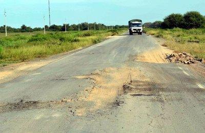 Pavimento para la Transchaco