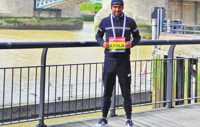 Ayala rompe récord en  Londres