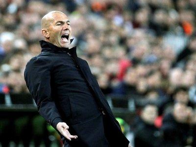 Zidane pierde la paciencia