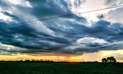 Sistema de tormentas que ingreso hoy por el Chaco se extendería todo el país