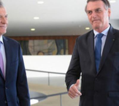 Bolsonaro expresa preocupación en caso de que CFK retorne al poder