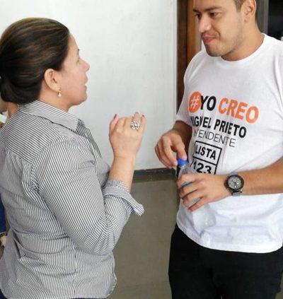 Candidatas declinan y piden voto útil para Prieto