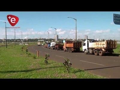 ENCARNACIÓN: CAMIONEROS AMENAZAN CON CIERRE DE RUTAS SI AUMENTA EL GASOIL
