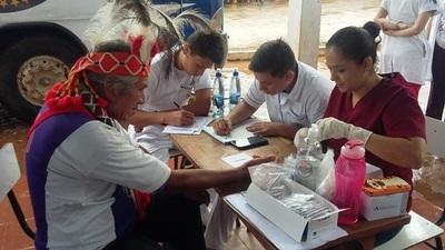 Comunidad Maká accede a consultas y atenciones en Roque Alonso