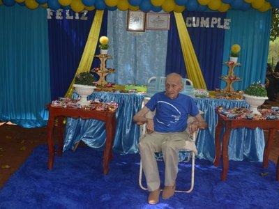 Ex combatiente cumplió 107 años y familiares reclaman mayor asistencia